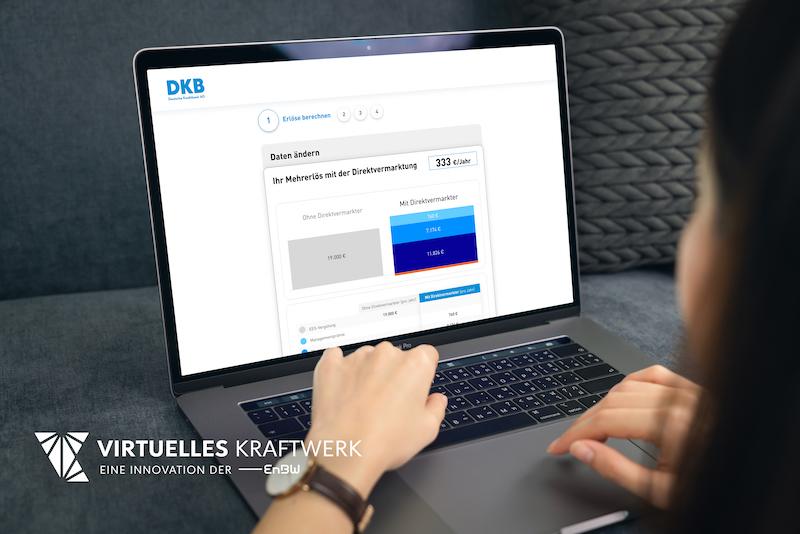 Laptop mit DKB-Interface