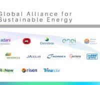Logos der Mitglieder der Global Alliance for Sustainable Energy - sie wollen erneuerbare Energien nachhaltiger machen