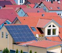 Photovoltaikanlage auf privatem Wohnhaus