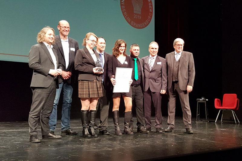 Gruppenbild Preisverleihung Innovationspreis