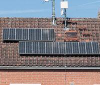 Alte Photovoltaikanlage