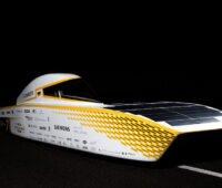 Das Solarauto Covestro Photon des Teams Sonnenwagen Aachen