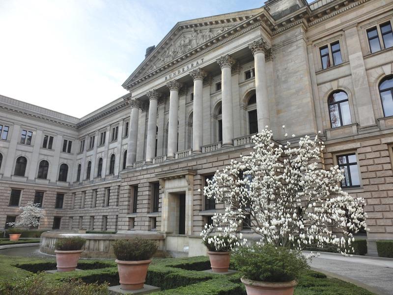 Das Gebäude des Bundesrates.
