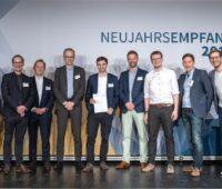 Gewinner des Start-Ups-Preises vom BEE 2019 auf der Bühne