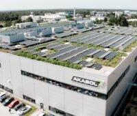 Fabrikgebäude von Akasol