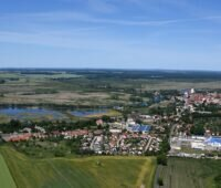Luftbildaufnahme von Ankam