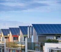 Gebäude mit Solardach in Baden-Württemberg