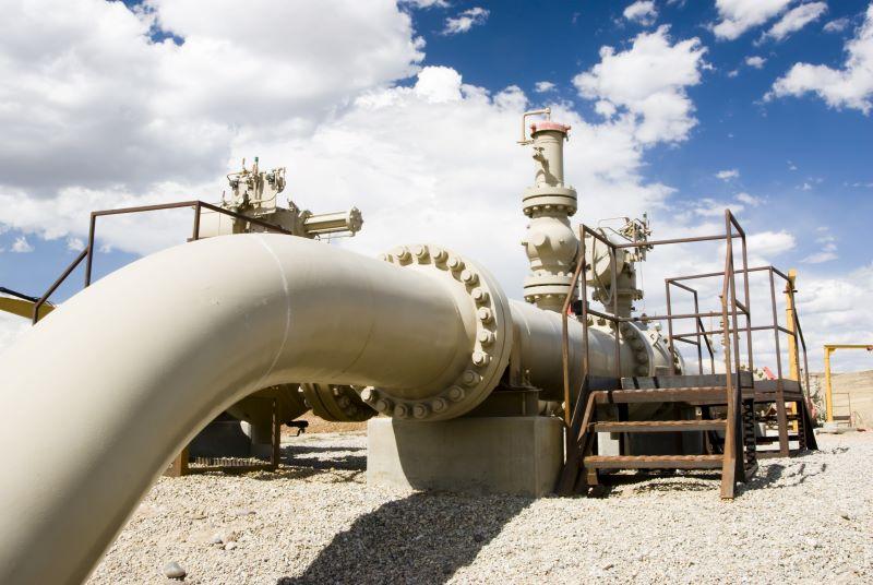Gaspipeline in Wyoming. Deutsche Wasserstoffnetze sollen im EnWG geregelt werden.