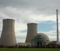 Ein Atomkraftwerk in Europa-