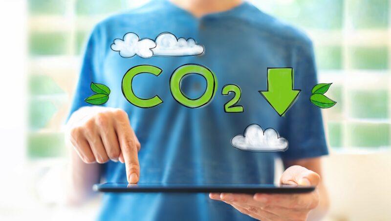 Zu sehen ist ein symbolisches Bild für die Elektrobiotechnologie.
