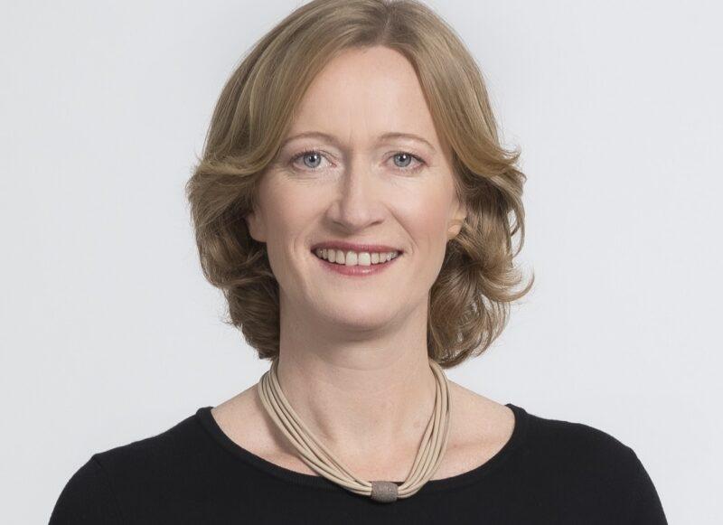 Zu sehen ist Kerstin Andreae, Vorsitzende der BDEW-Hauptgeschäftsführung, die den Beitritt des BDEW zur European Clean Hydrogen Alliance kommentiert.