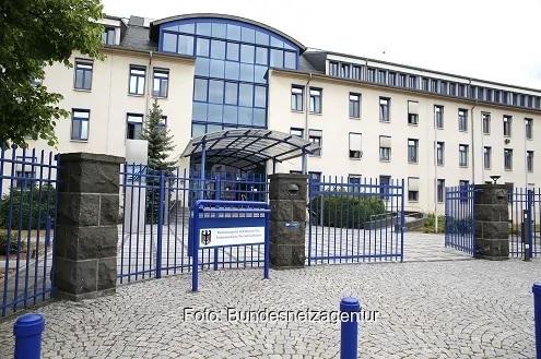 Zu sehen ist das Gebäude der Bundesnetzagentur, die das Marktstammdatenregister verwaltet.