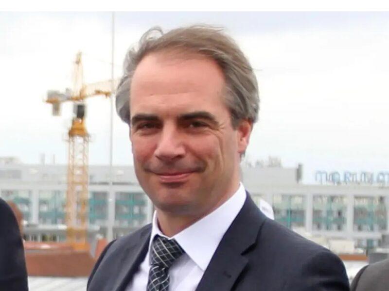 Zu sehen ist BSW-Geschäftsführer Carsten Körnig, der den Photovoltaik-Boom verstärken möchte.