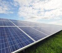 Solarpark-Modulreihe