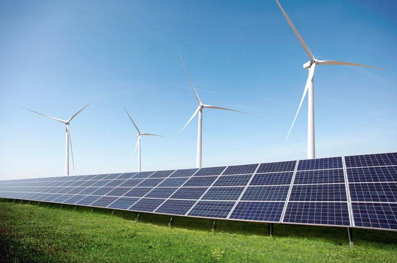 Photovoltaik-Freiflächenanlage von Windpark