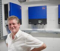 Der Geschäftsführer der Becker GmbH, Andries Broekhuijsen.