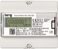 Zu sehen ist ein digitaler Stromzähler der Firma Berg GmbH, einem Tochterunternehmen der Vivavis AG, der die strengen Anforderungen an die Drittmengenabgrenzung erfüllt.