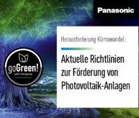 goGreen: Panasonic: Aktuelle Richtlinien zur Förderung von Photovoltaik-Anlagen