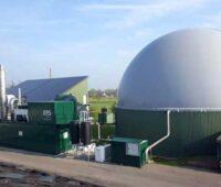 Zu sehen ist eine Biogasanlage. Auch für diese fordern die Bioenergieverbände Planungssicherheit.
