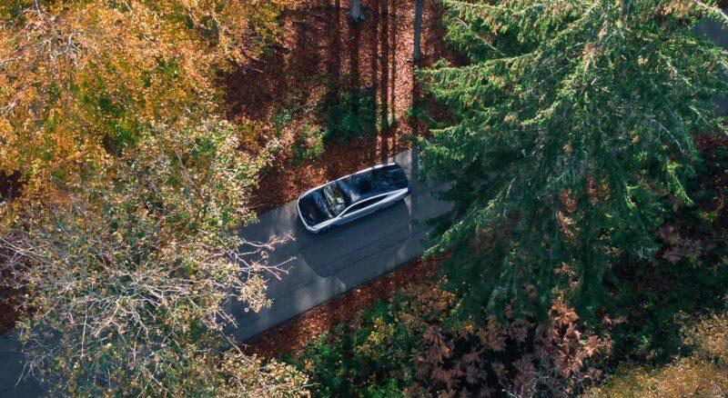Zu sehen ist das Photovoltaik-Elektroauto Lightyear One.