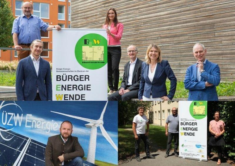 Beteiligte an dem Forschungsprojekt zu Geschäftsmodellen von Bürgerenergie-Genossenschaften.
