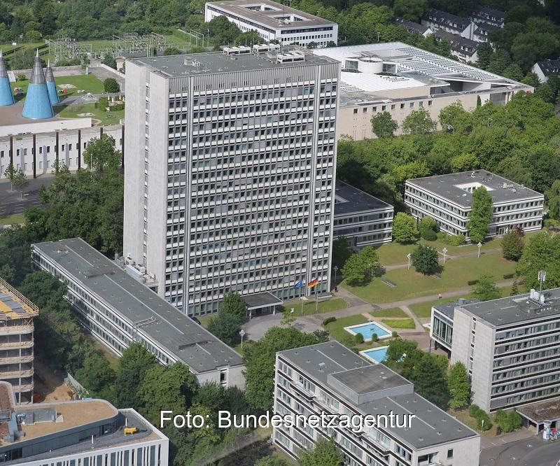 Zu sehen ist der Hauptsitz der Bundesnetzagentur in Bonn, Cottbus wird der viertgrößte Standort der Behörde sein.