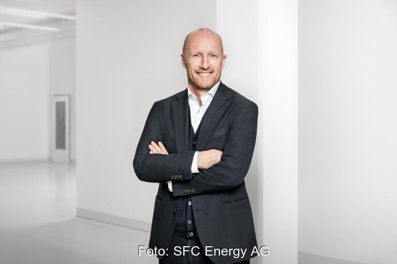 Portrait des CEO von SFC Energy, Peter Podesser