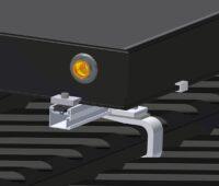 Zu sehen ist das neue Montagesystem für Photovoltaik und Solarthermie.