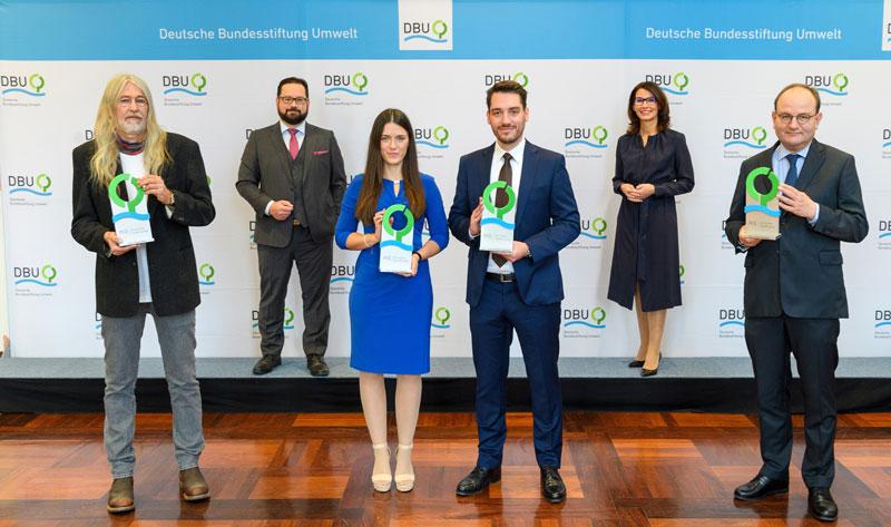 Preisträger der Umweltpreises 2020 der DBU