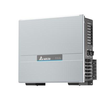 Zu sehen ist der Photovoltaik-Wechselrichter M50A Flex von Delta.