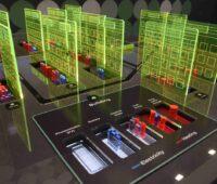 Smart-Meter-Gateways: Eine symbolische Darstellung zeitg die vernetzte Energiewelt der Zukunft.