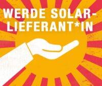 Grafik: Hand öffnet sich zur Sonne