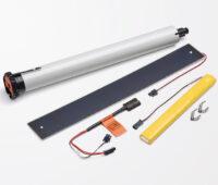 Solar-Rollladen als Bausatz von Elero