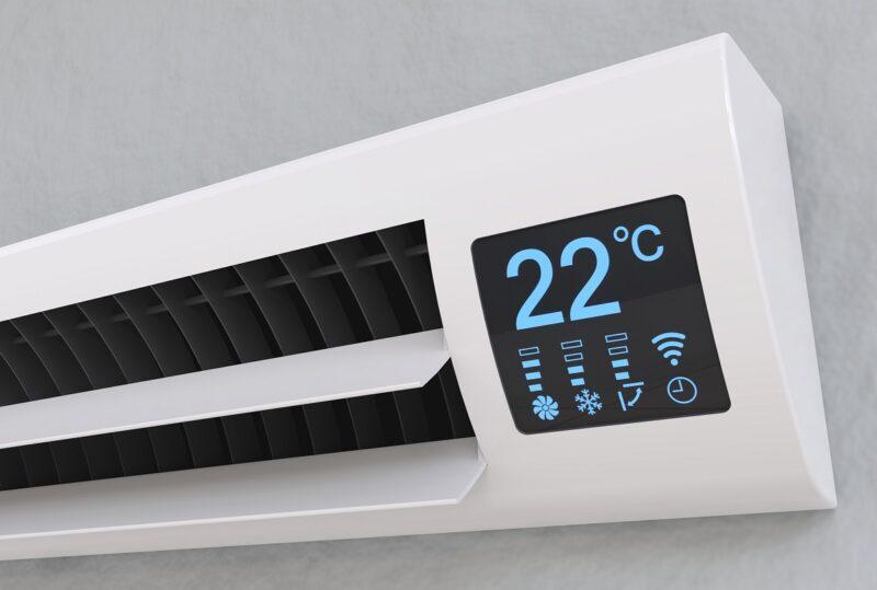 Zu sehen ist ein Kühlgerät, die Schweizer Studie erwartet einen deutlich steigenden Energiebedarf für die Kühlung in Zukunft.