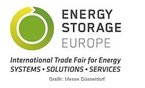 Zu sehen ist das Logo der Energy Storage Europe 2021.