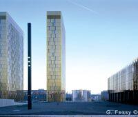 Das Gebäude des Europäischen Gerichtshofs in Luxemburg.