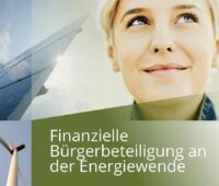 Zu sehen ist das Deckblatt vom Leitfaden Bürgerbeteiligung für Stadtwerke und EVU.