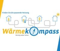 Zu sehen ist das Logo vom Online-Wärmekostenrechner für erneuerbare Wärme.