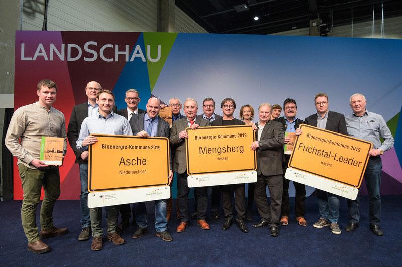 Preisverleihung Bioenergie-Kommunen