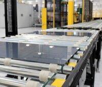 Dünnschicht-Modul auf Produktionsstraße