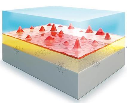 Zu sehen ist eine Abbildung aus der Batterieforschung zur Defektbildung an Silizium-Anoden.