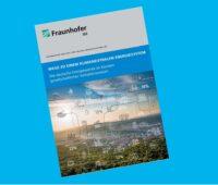Zu sehen ist das Deckblatt der Kurzstudie in der das Fraunhofer ISE den jährlichen Photovoltaik-Zubau bis 2030 berechnet hat, der für die EU-Klimaziele notwendig ist.