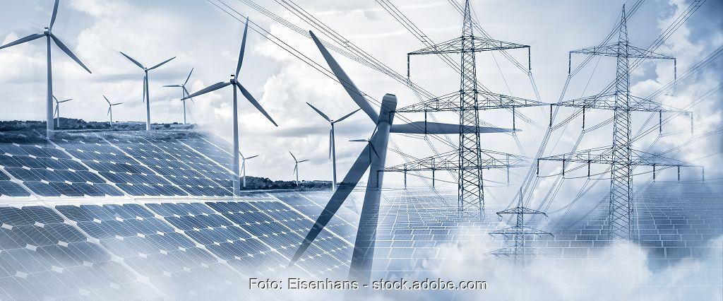 Zu sehen sind Photovoltaik und Wind, deren Einbindung im Projekt C/sells verbessert werden soll.