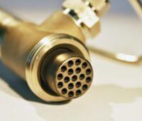 Zu sehen ist die Kohlenstoff-Membran, die die Trennung von Wasserstoff und Erdgas ermöglichen soll.