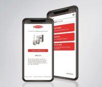 Zu sehen ist die Solar.start App, mit der man den Fronius Symo GEN24 Plus Hybridwechselrichter leicht in Betrieb nehmen kann.