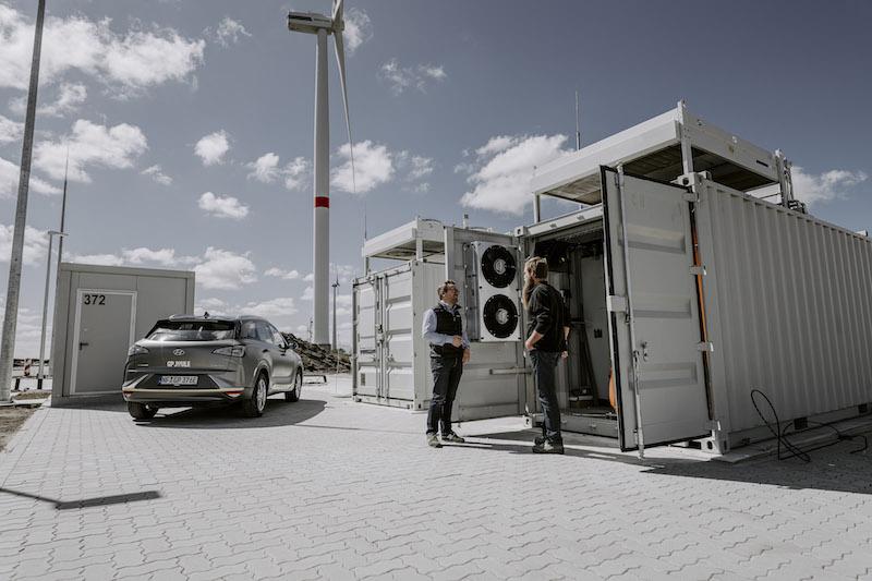 Regeneratives Wasserstoffmobilitäts-Projekt in Norddeutschland