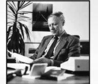 Portrait von Adolf Goetzberger