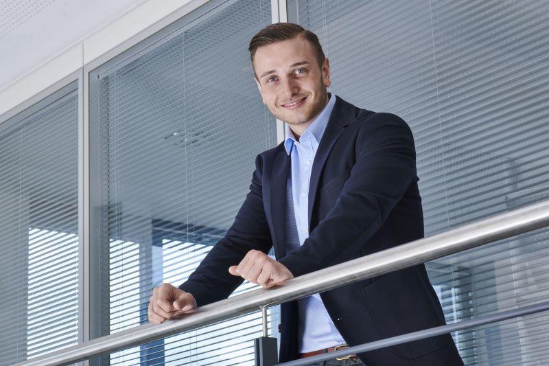 Portrait des Unternehmers Hannes Knoll