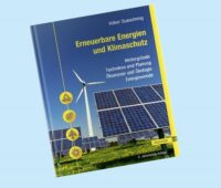 Zu sehen ist das Cover des Fachbuchs Erneuerbare Energien und Klimaschutz von Volker Quaschning.