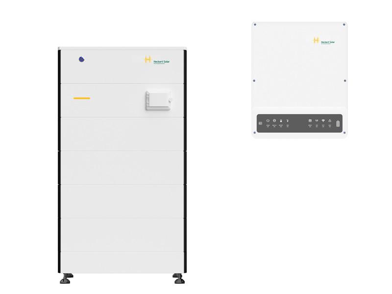 """Heckert Solar: Abbildungen vom neuen Heimspeichersystem """"Syphon E"""""""